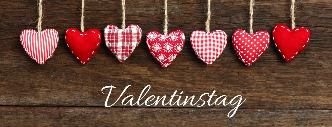 Valentinstag mit Text